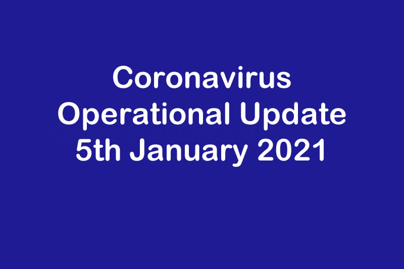 Operational Update for Coronavirus COVID 19 & T W Logistics