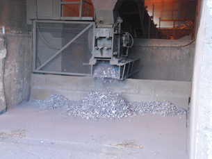 Ancillary processing crushing services