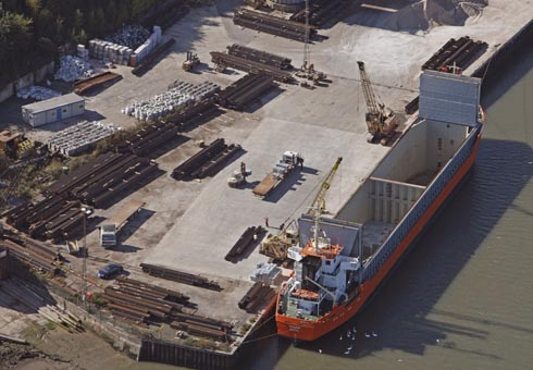 T W Logistics Port of Mistley Facility
