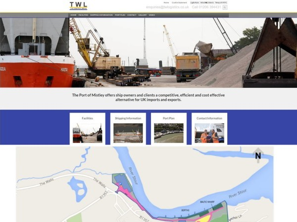 New Website Launched for Port Of Mistley