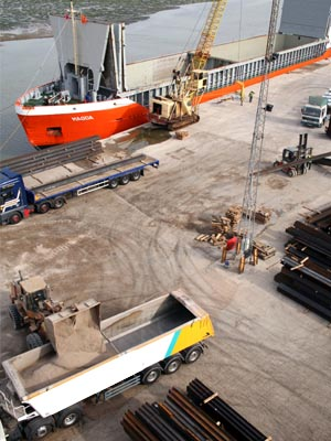 Port Operations at T W Logistics - Mistley