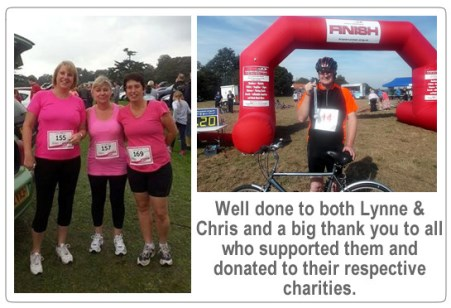 TWL Staff at Charity Fundraising Events