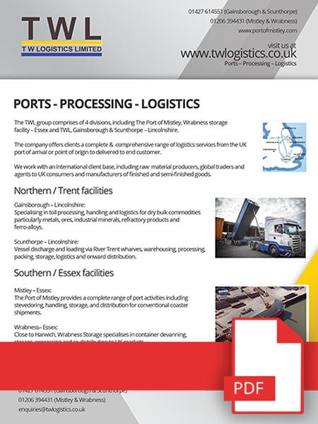 T W Logistics Limited | TWL