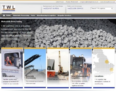 New website launched for T W Logistics